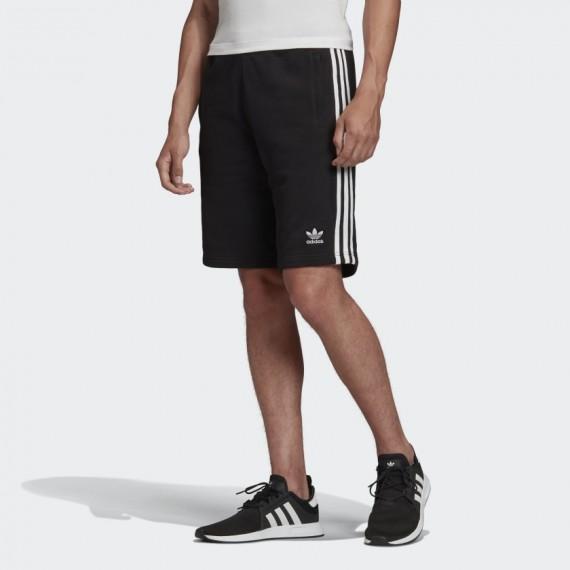 3-Stripe Short Black