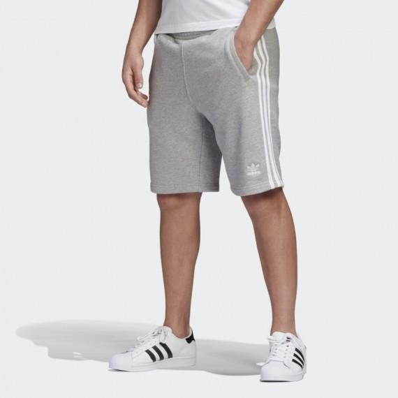 3-Stripe Short Grey