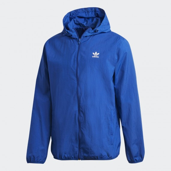 Essential Windbreaker Blau