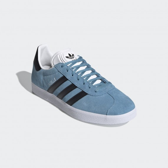 Gazelle Hazy Blue / Core Black / Cloud White