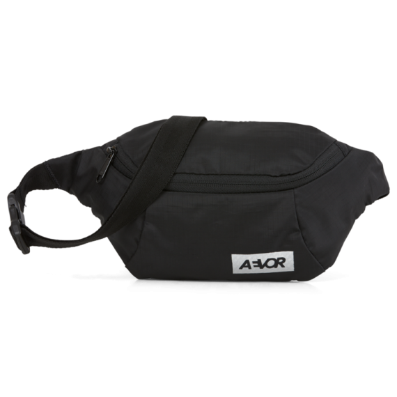 Hip Bag Ribstop Black -