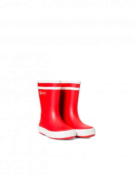Baby Flac- Children's boots- Rouge
