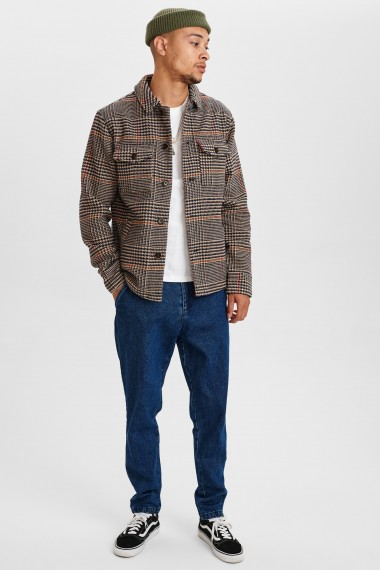 Akbastian Hound Tooth Check Jacket Incense