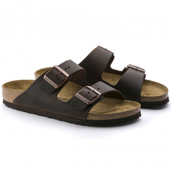 Birkenstock Arizona Nubukleder geölt Herren Normal