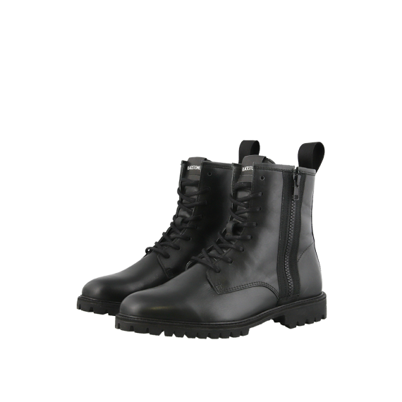 SL98 Black Leather Boot