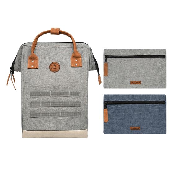 Apéro Backpack Grey Melanged