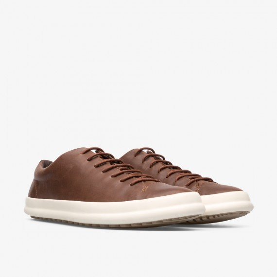 Chasis Brown Leather Shoe for Men
