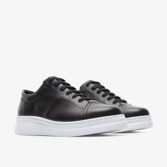 Runner Up Black Sneakers for Women