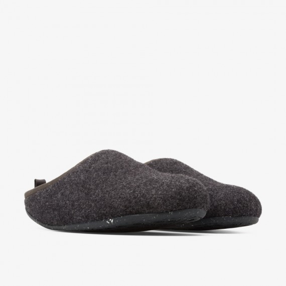 Wabi Grey Slippers for Men