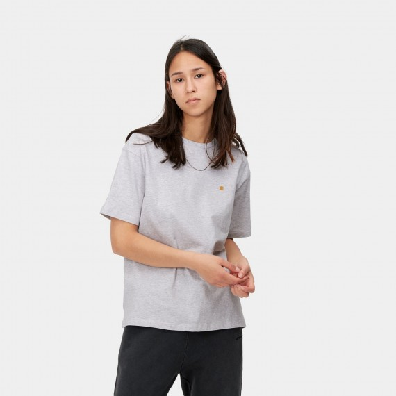 Chase Tee Ash Heather Gold