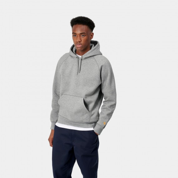 Hooded Chase Grey Heather