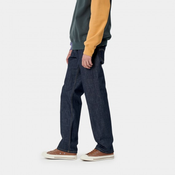 Carhartt Marlow Pant 'Edgewood' Blue Denim, 12 oz