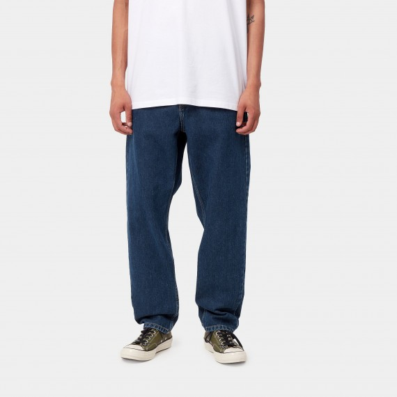 Newel Relaxed Dnm Pant - Stone Wash