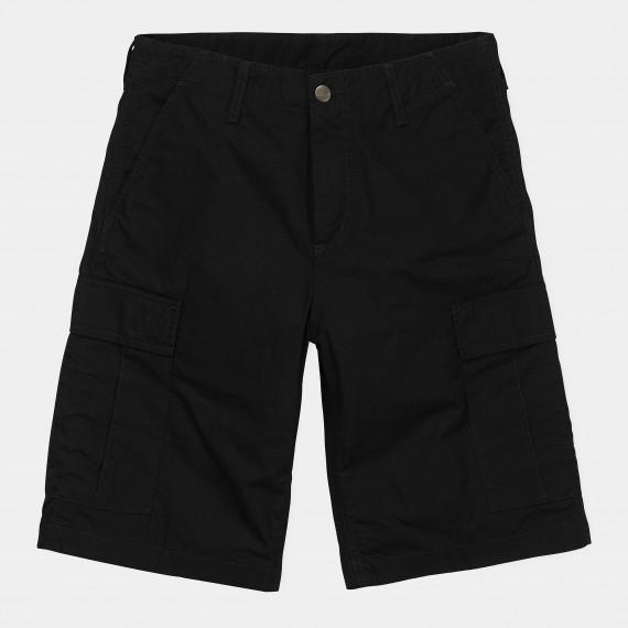 Regular Cargo Short Black