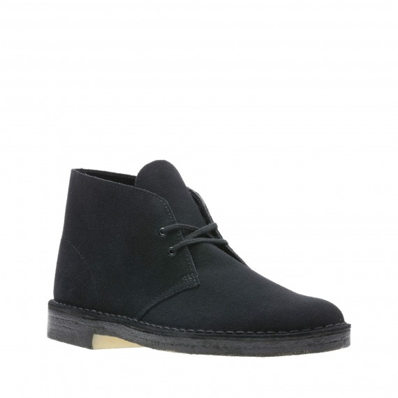 Desert Boot Suede Black