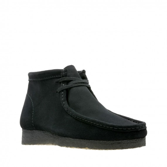 Wallabee Boot Suede Black