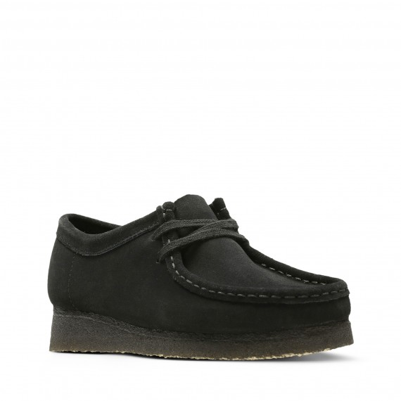 Wallabee Suede Black