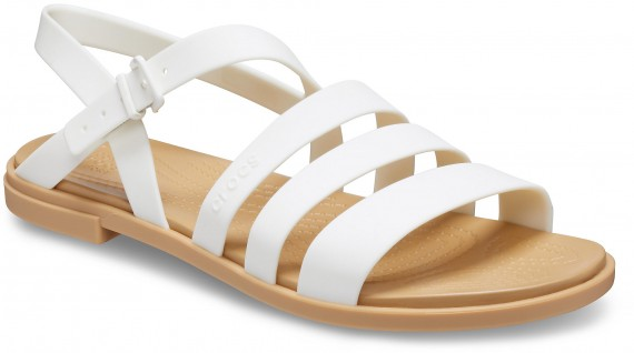 W Tulum Sandal Oyster/Tan-White