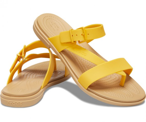 W Tulum Toe Post Sandal Canary/Tan-Gelb