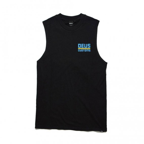 United Recycled Muscle Black