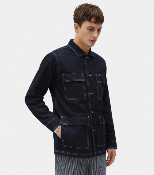 Morristown Hickory Jacket Blue