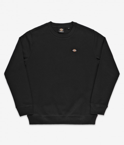 Oakport Small Logo Sweater Black
