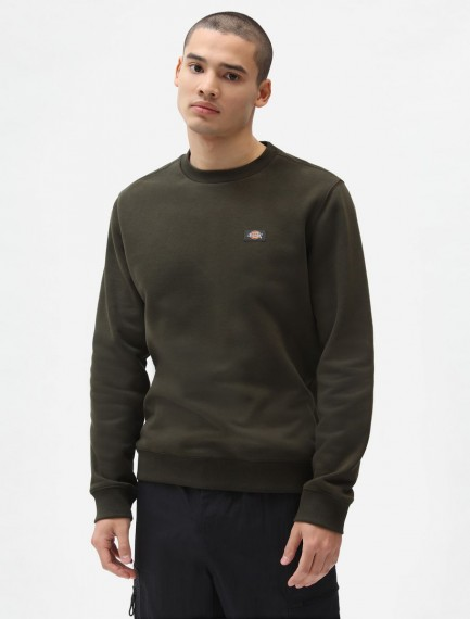 Oakport Sweat Olive Green