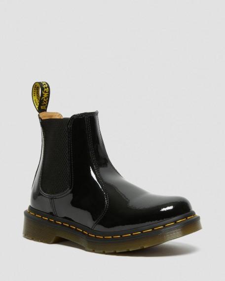 2976 Lack Chelsea Boot Black Patent