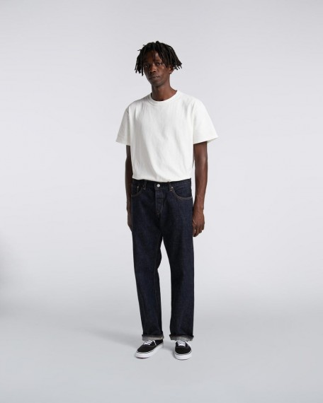 Edwin Loose Straight Jeans  Blue - Rinsed