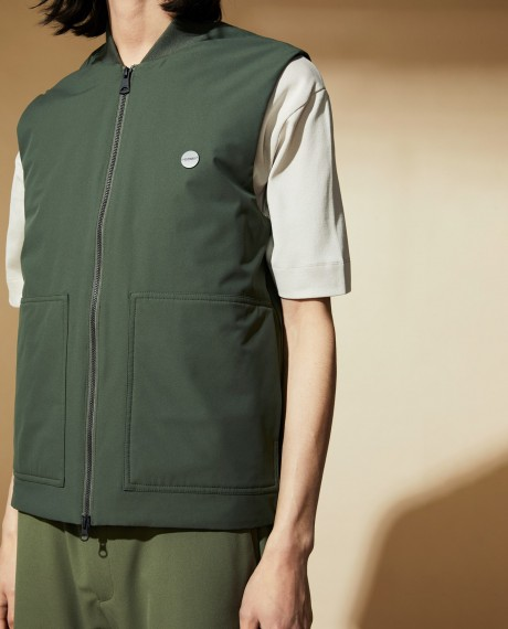 Kenny Vest Slate Green