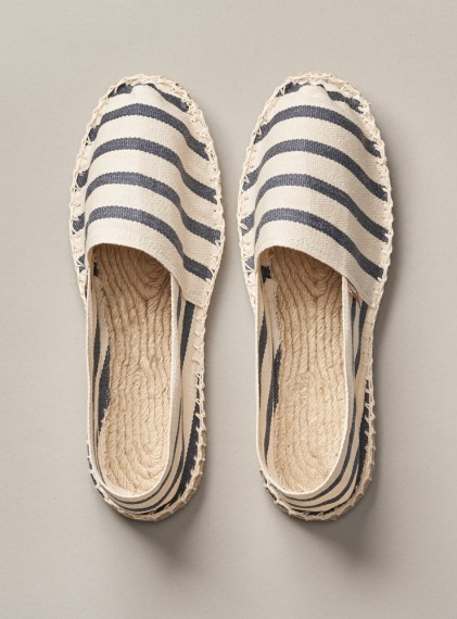 Classic Stripes Ecru/Ocean