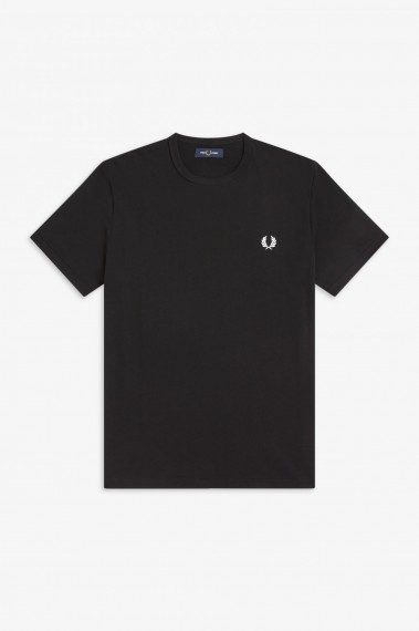 Fred Perry Ringer Black
