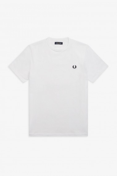 Fred Perry Ringer White