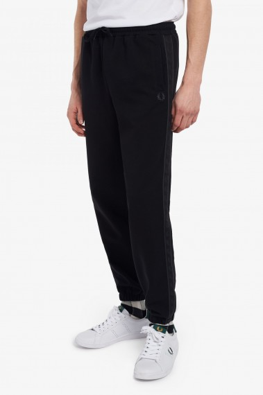 Taped Trackpant Black