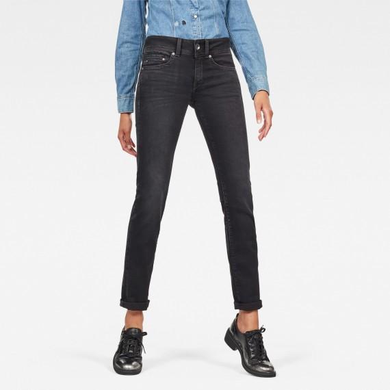 G-Star Midge Mid Straight Jeans