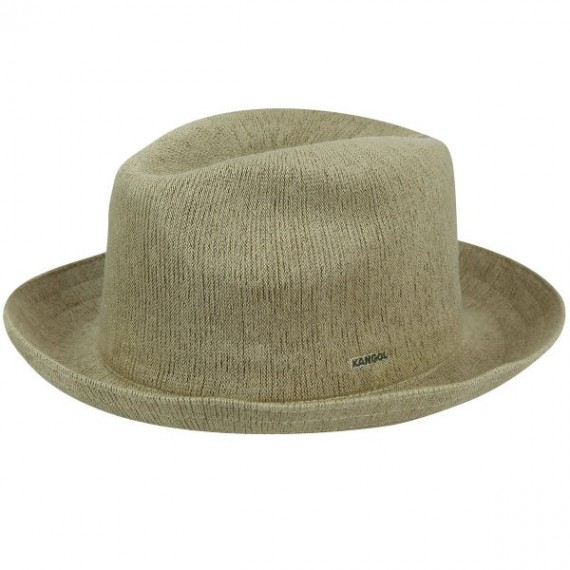 Bamboo Gent Trilby Hat Beige