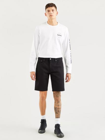 405™ Standard Shorts Black Rinse
