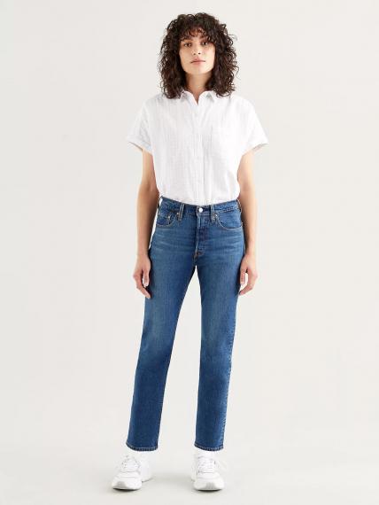 501® Levi's® Crop Jeans Dark Indigo