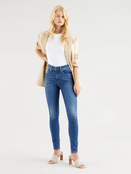 721™ High Rise Skinny Jeans Medium Indigo