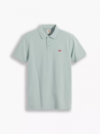Batwing Polo Blue Surf