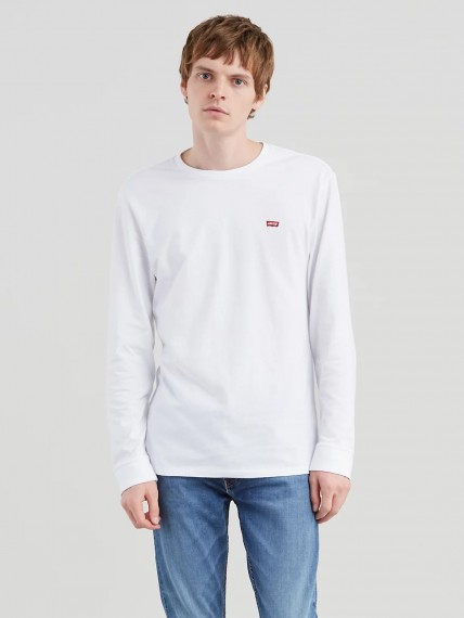 LS Original HM Tee - Patch White