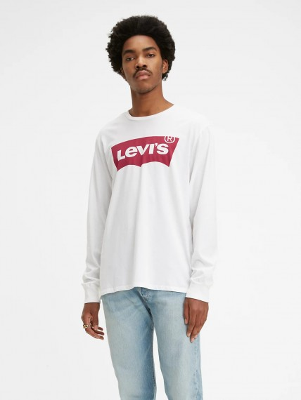 LS STD Graphic Tee - Better White