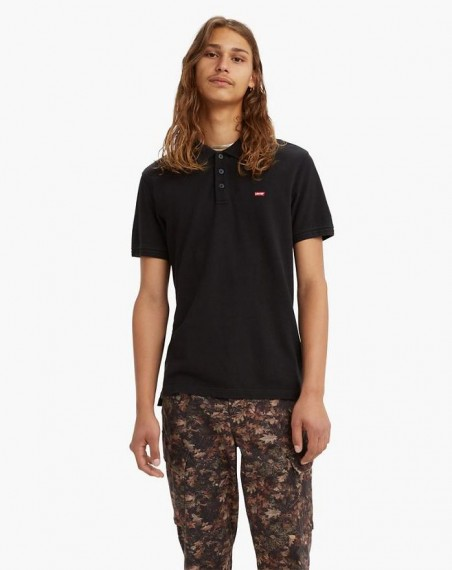 Standard Housemarked Polo Mineral Black
