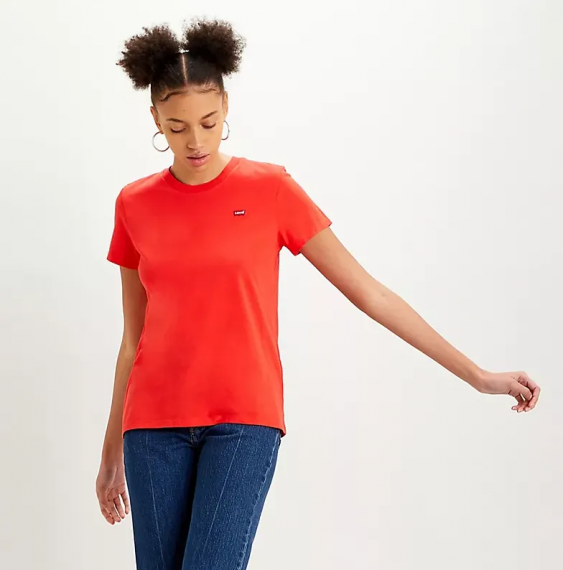 The Perfect Tee Poppy Red