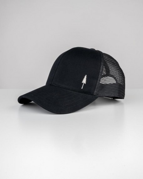 TreeCap Baseball Trucker Black