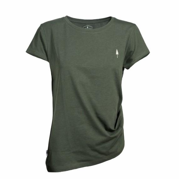 TreeShirt Basic Woman Olive Mel