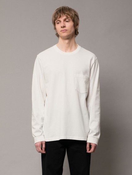 Rudi Heavy Pocket Tee Chalk White