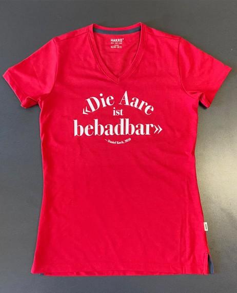 Aare-Shirt-bebadbar-Wmn-Red