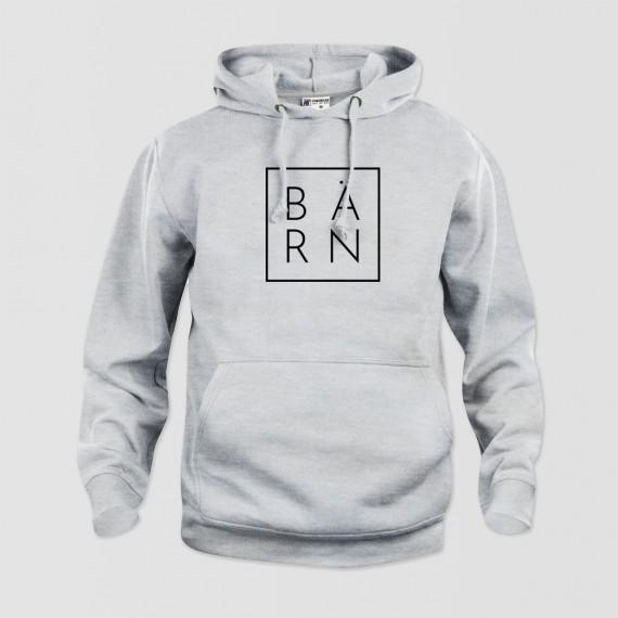 Hoodie Bärn Grey