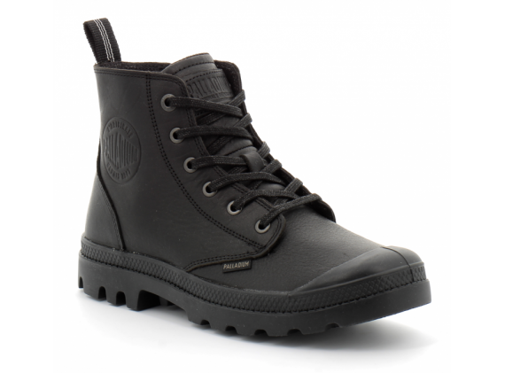 Pampa Zip Leather Blk